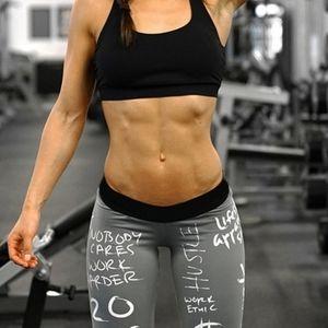 💥Graffiti Work Out Leggings